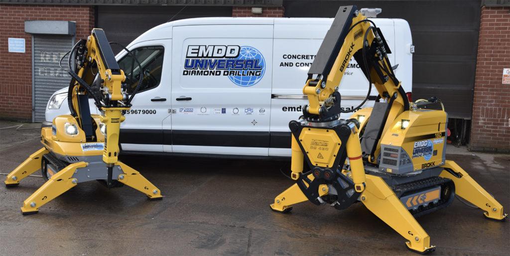 EMDD Universal Diamond Drilling Brokks and Van