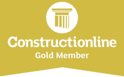 Achieving Constructionline Gold Accreditation