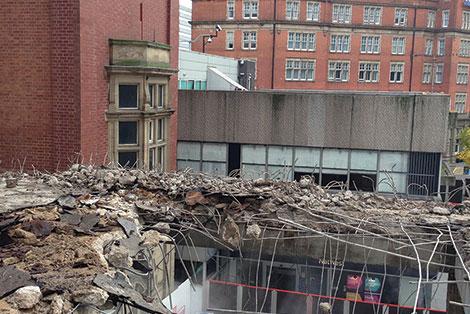 EMDD Intu Victoria Centre Demolition